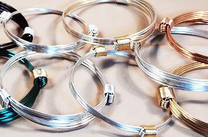 Elephant or giraffe hair knot bracelets for men or women