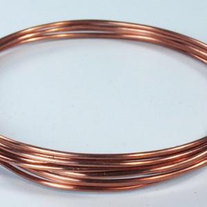 Beautiful shiny new copper bracelets
