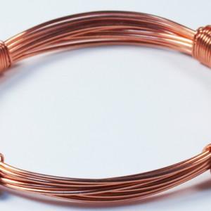4 Knot Copper Bracelet