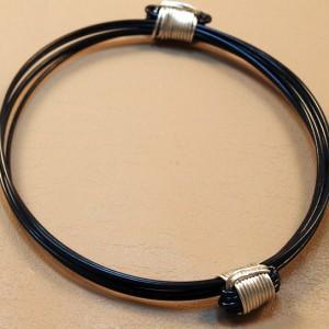 Elephant or giraffe hair knot bracelets
