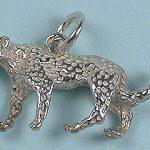 Leopard 3D charm