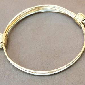 Simba303 Solid 4KY Gold Bracelet