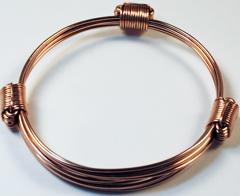 Simba 3305 3knot copper bracelet