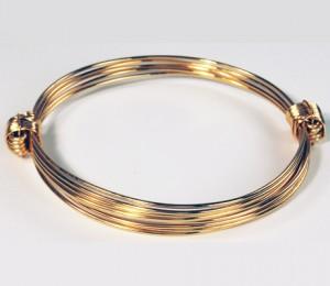 Solid 14KY gold bracelet