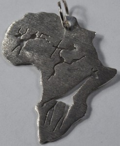 African rock art pendant