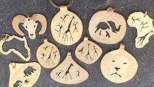 Gold Animal figure jewelry