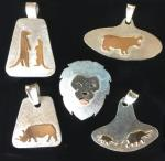 African animals zoos jewelry