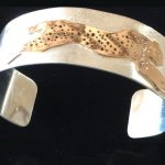 Cheetah style bangle