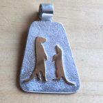 Meerkat pendant