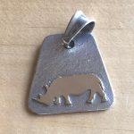 Rhino Pendant Jewellery