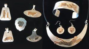cheetah african wildlife jewelry
