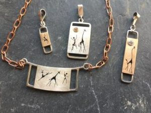 Framed Rock Art jewlery