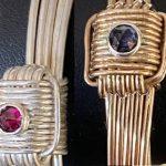 Knot Bracelets with Gemstones
